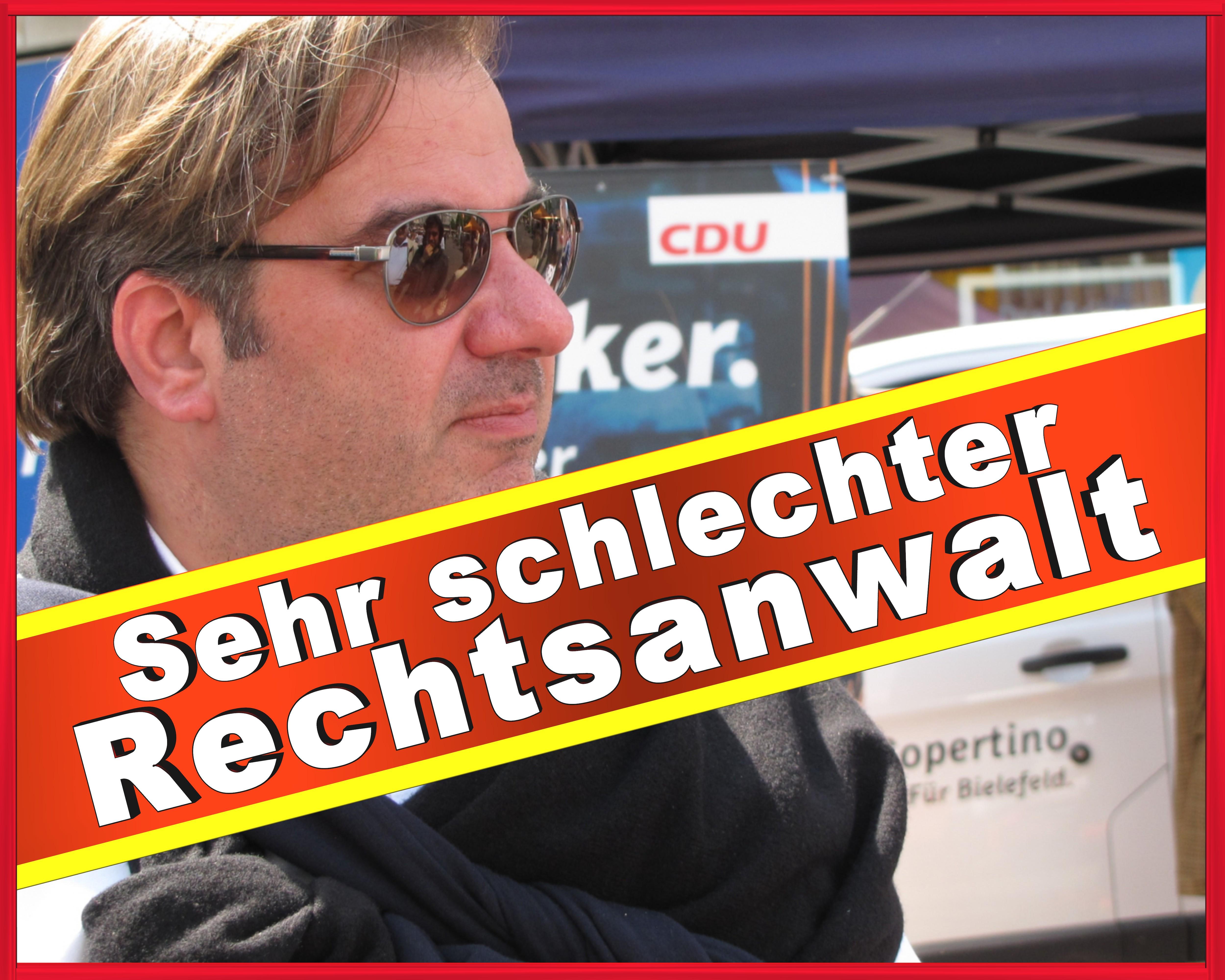 Rechtsanwalt Vincenzo Copertino CDU Bielefeld CDU NRW Vorstand Ratsmitglied